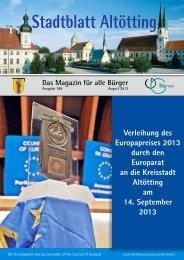 Stadtblatt Altötting