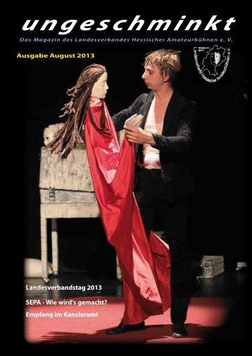Ausgabe August 2013 - Landesverband Hessischer ...