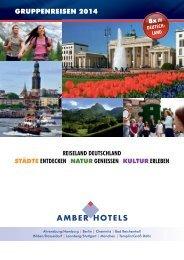 GRUPPENREISEN 2014 - Amber Hotels
