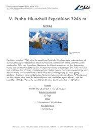 V. Putha Hiunchuli Expedition 7246 m - AMICAL alpin