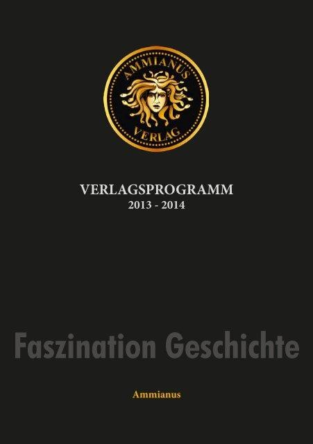 Verlagsprogramm 2014 - Ammianus-Verlag