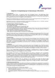 Allgemeine Vertragsbedingungen Bauleistungen (AVB) - Amprion