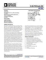 AD1856 (Rev. C) - Analog Devices