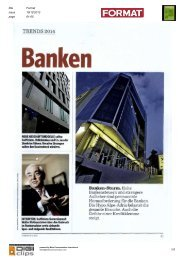Die Konsolidierung des Bankensektors schreitet ... - Hannes Androsch