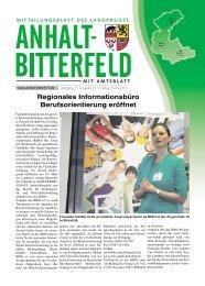 Ausgabe 7 vom 5. April 2013 - Landkreis Anhalt-Bitterfeld