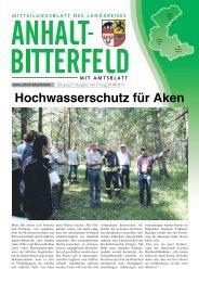 Ausgabe 16 vom 9. August 2013 - Landkreis Anhalt-Bitterfeld