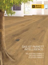 Weitzer-Parkett - A. Pümpel & Co.KG
