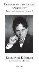 Eberhard Köstler - International League of Antiquarian Booksellers