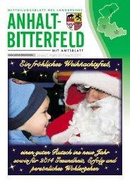 Ausgabe 24 vom 20. Dezember 2013 - Landkreis Anhalt-Bitterfeld
