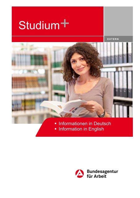Studium Plus - Bundesagentur für Arbeit