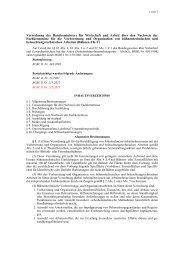 Verordnung des Bundesministers für Wirtschaft ... - Arbeitsinspektion