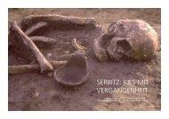 SERBITZ: KIES MIT VERGANGENHEIT - Landesamt für Archäologie