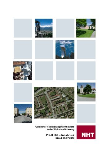 Ausschreibung Pradl Ost - Innsbruck (pdf, 302KB)