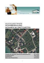 Ausschreibung (pdf, 971KB) - architekturwettbewerb
