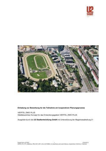 Auslobung (pdf, 7MB) - Architekturwettbewerb.at