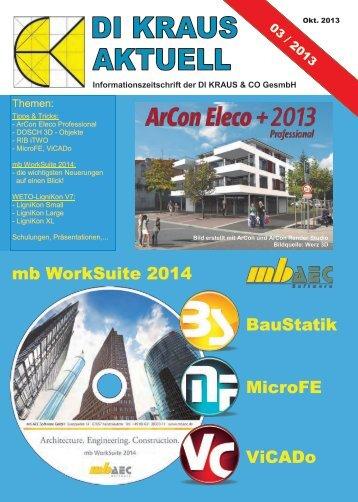 DI KRAUS AKTUELL Ausgabe 2013 / 3 - ArCon