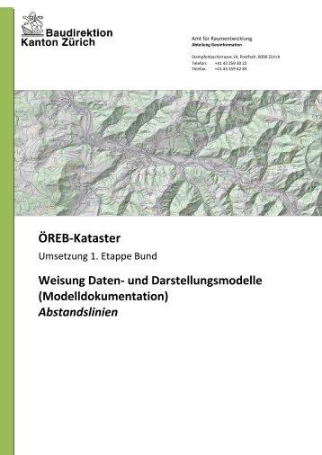 Modelldokumentation Abstandslinien (PDF, 682 kB) - Amt für ...