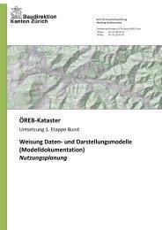 Modelldokumentation Nutzungsplanung - Amt für Raumentwicklung