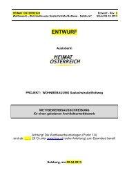 Auslobung (pdf, 98KB) - architekturwettbewerb