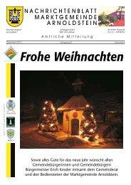 Frohe Weihnachten - Marktgemeinde Arnoldstein