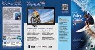 Datenblatt Corel Video Studio X6 Ultimate deutsch - ARP