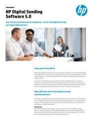 HP Digital Sending Software 5.0 - ARP