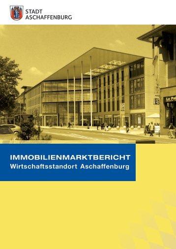 Immobilienmarktbericht 2013 - Stadt Aschaffenburg