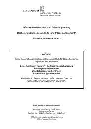 GMP_Infobroschüre_Sonderquoten_SoSe 2014 - Alice Salomon ...
