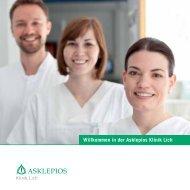 Willkommen in der Asklepios Klinik Lich - SciVal