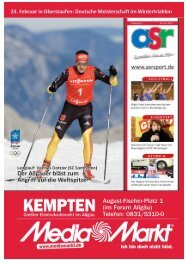 Vollbild - Allgäu Sport Report