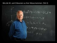 Wie die W- und Z-Bosonen zu ihrer Masse kommen (Teil 2)