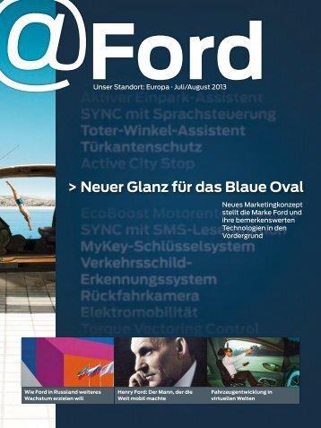 Neuer Glanz für das Blaue Oval - Ford
