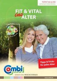 "Zur Broschüre ""Fit & vital ins Alter"" - Combi"
