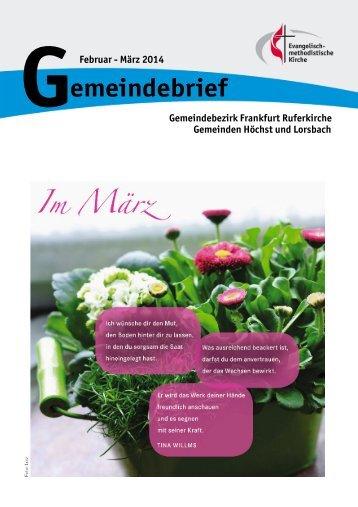 Gemeindebrief Februar - März 2014 - Internet - EmK