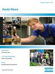 Azubi-News - Atlas Copco