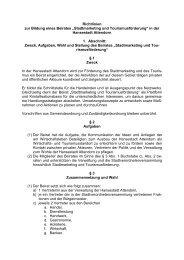 """Richtlinien zur Bildung eines Beirates """"Stadtmarketing ... - Attendorn"""