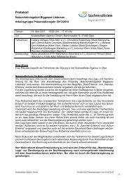 Ergebnisprotokoll 14.05.2013 - Attendorn