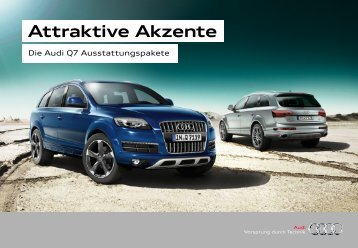 Audi Q7-Pakete
