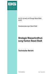 Strategie Wasserkraftnut - Amt für Umwelt und Energie - Kanton ...