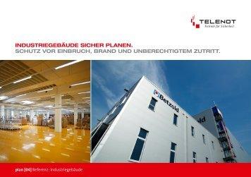 industriegebäude sicher planen. schutz vor einbruch, brand und ...