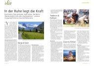 Berner Oberland: In der Ruhe liegt die Kraft - aufrad.ch