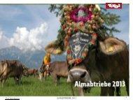 Tirol Information ALMABTRIEBE 2013