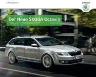 Der Neue ŠKODA Octavia - im Škoda Autohaus Rüdiger GmbH