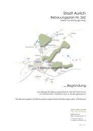 Begründung - Stadt Aurich