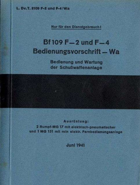   1.. m.'r. 2109 F-2 und l-41W'a - AVIA