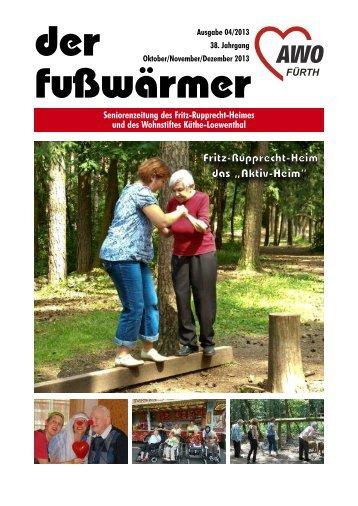 Heimzeitung Fusswärmer 04/2013 (.pdf-Dokument ... - Awo-fuerth.de