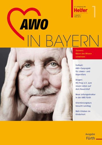 Helfer Ausgabe 1/2013 (.pdf-Dokument, 1876 kByte) - Awo-fuerth.de