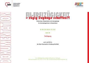 Ergebnisse - AWO Bezirksverband Niederrhein eV