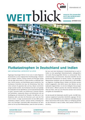 weitblick 2/2013 - AWO international