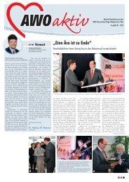 Ausgabe 01/2013 - AWO Kreisverband Siegen-Wittgenstein/Olpe